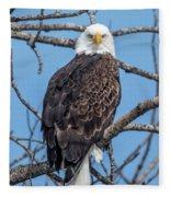 Eagle Mean Muggin Me Fleece Blanket