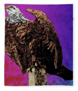Eagle Of Wwi Fleece Blanket