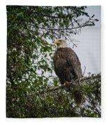 Eagle Feet Fleece Blanket