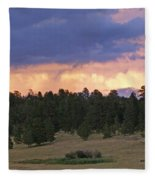Eagle Rock Estes Park Fleece Blanket