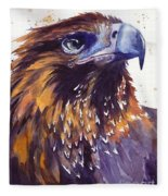 Eagle's Head Fleece Blanket