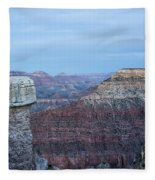 Early Evening At Grand Canyon No. 2 Fleece Blanket
