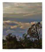 Early Evening Sunset 1 Fleece Blanket