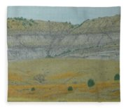 Early May On The Western Edge Fleece Blanket