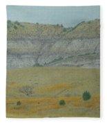 Early May On The Western Edge Fleece Blanket
