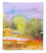 Early Morning 06 Fleece Blanket
