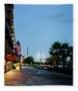 Early Morning At The Bohemian Hotel Fleece Blanket