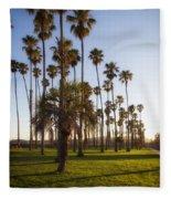 Early Morning In Santa Barbara Fleece Blanket
