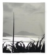 Early Morning Over Sugar Beach Fleece Blanket
