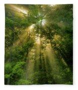 Early Morning Peace Fleece Blanket