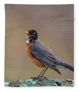 Early Morning Serenade Fleece Blanket