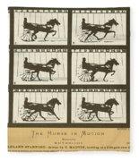 Early Photography, 1878 Fleece Blanket