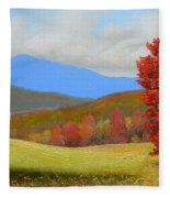 Early September Fleece Blanket