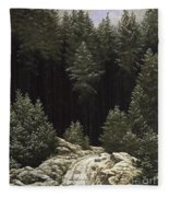 Early Snow Fleece Blanket
