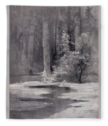 Early Spring Backwoods 1884 Alexey Kondratievich Savrasov Fleece Blanket
