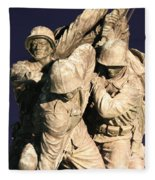 Early Washington Mornings - Team Iwo Jima Fleece Blanket