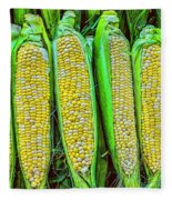 Ears Of Corn Fleece Blanket