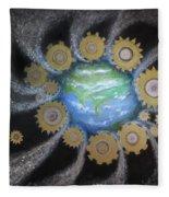 Earth #1 - You Are Here Fleece Blanket