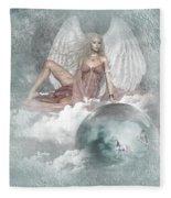 Earth Angel 2 Fleece Blanket
