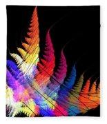 Earth Fern Fleece Blanket