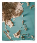 Map Of Asia 3d.East Asia 3d Render Topographic Map Neutral By Frank Ramspott