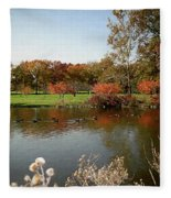 East Coast Autumn Fleece Blanket