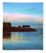 East Coast Sunrise Fleece Blanket