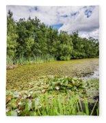 East Cramlington Nature Reserve Fleece Blanket