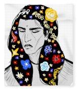 East Of Peace Fleece Blanket