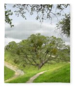 East Ridge Trail -  Spring Fleece Blanket