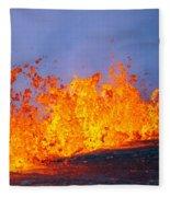 East Rift Zone Fleece Blanket