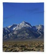 East Side Sierra Nevada Range Fleece Blanket