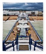 Eastbourne Pier Fleece Blanket