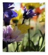 Easter Bouquet  Fleece Blanket