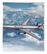 Eastern Air Lines Dc-10-30 Fleece Blanket