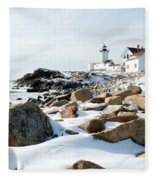 Eastern Point Light II Fleece Blanket