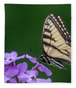 Eastern Tiger Swallowtail Fleece Blanket