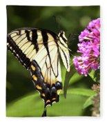 Eastern Triger Swallowtail Fleece Blanket