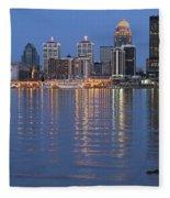 Ebb And Flow Of Louisville Fleece Blanket