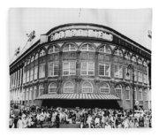 Ebbets Field, Brooklyn, Nyc Fleece Blanket