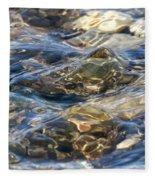 Ebbing Tide 1 Fleece Blanket