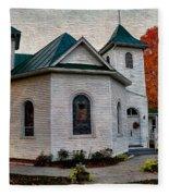 Ebenezer United Methodist Church Fleece Blanket