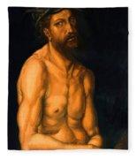 Ecce Homo Fleece Blanket