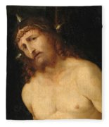 Ecce Homo Fleece Blanket