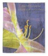 Ecclesiastes 9 6 Fleece Blanket