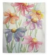 Echinacea Cheyenne Spirit Fleece Blanket