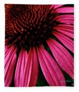 Echinacea IIi Fleece Blanket