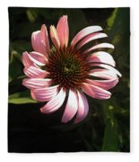 Echinacea Fleece Blanket