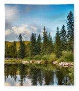 Echo Lake 2 Fleece Blanket