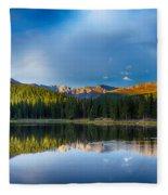 Echo Lake 4 Fleece Blanket